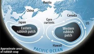 pollution océan Pacifique