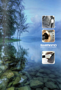 catalogue pêche Shimano 2012