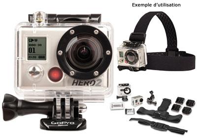 caméra GOPRO pour pêcheur