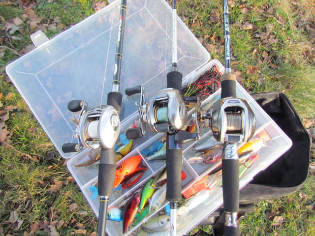 matériel pêche casting