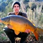 Pêche de la carpe en hiver