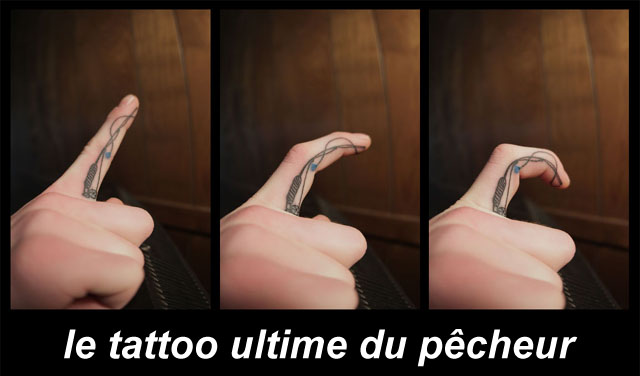 tatouage canne  pche