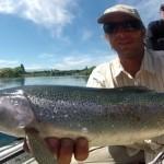 Pêche de la truite à la mouche en Patagonie