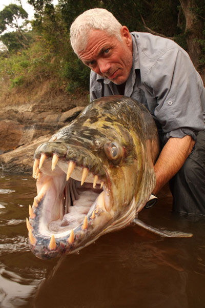 Jeremy Wade tigerfish goliath