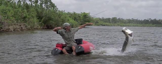 pêche du tarpon à la mouche