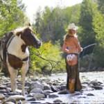 cowgirl pêche