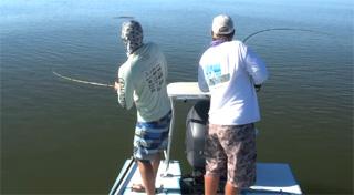 doublé à la pêche