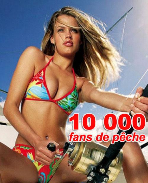 10000 fans de pêche sur Facebook