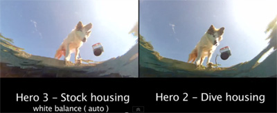 test gopro hero2 hero3