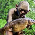 Gollum pêche