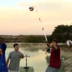 Pêche et basketball