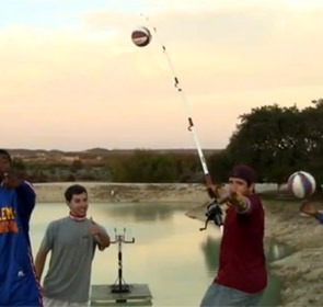 Harlem globetrotters pêche