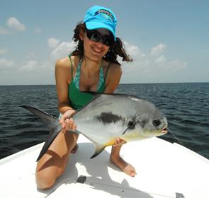 la pêche du permit en mer