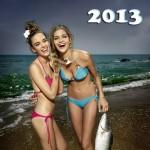 2 filles pêche