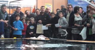 clermont 2013, bassin de démonstration de pêche