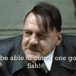 Hitler Goes Striper Fishing
