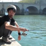 street fishing paris