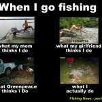 When I go Fishing….