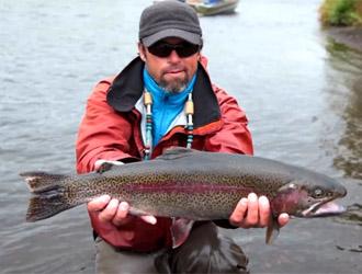 pêche à la truite en Alaska