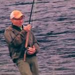 Pêcheurs de saumons en Norvège