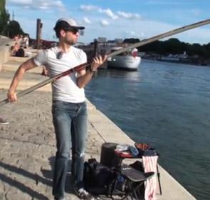 pêche du silure sur la Seine