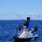 Pêche aux leurres en jet ski