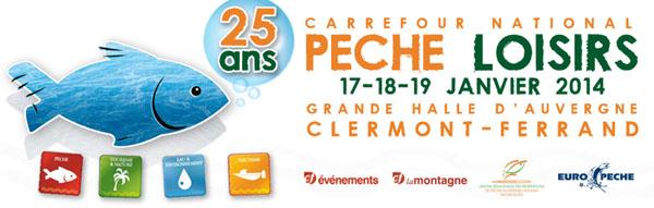 salon de la pêche de Clermont Ferrand 2014