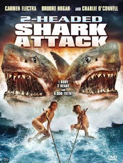 l'attaque du requin à 2 têtes, affiche du film