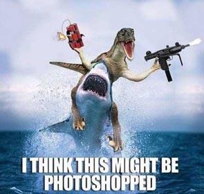 je pense que c'est peut-être photoshoppé