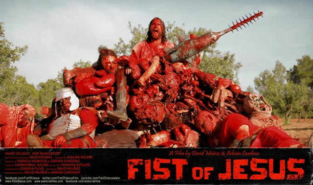 fist of jesus, film gore