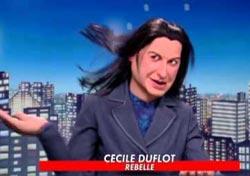 Cécile Duflot dans les guignols