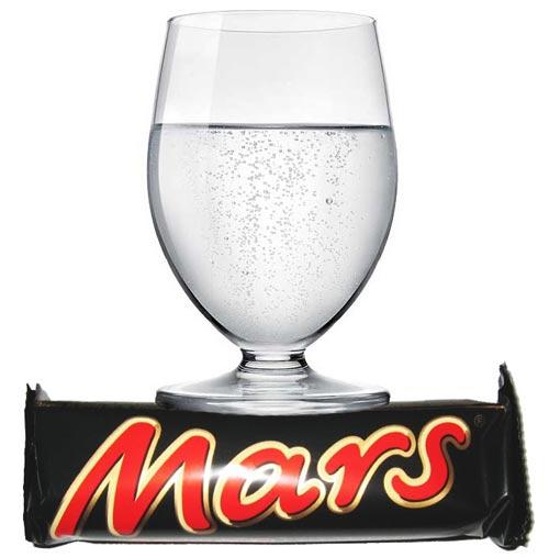 il y a de l'eau sur Mars !
