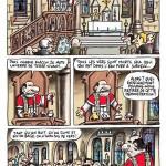 La blague du curé et du ver de terre