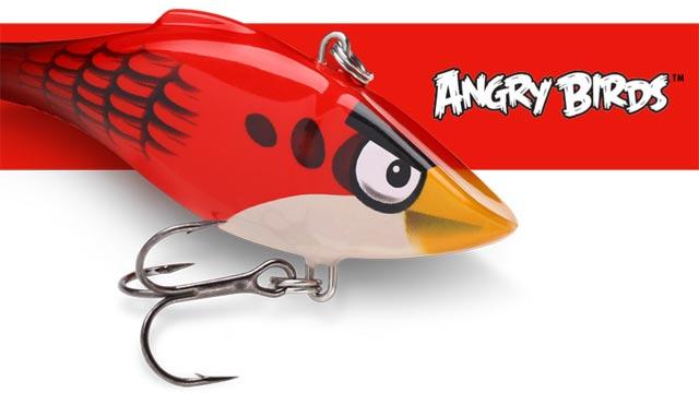 leurre de pêche angry birds Rapala