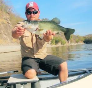pêche du bass au mexique