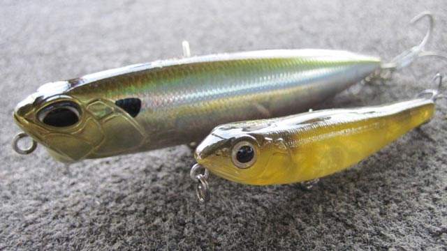 stickbaits leurres de surface