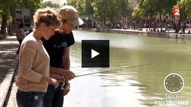 street fishing dans telematin sur France 2