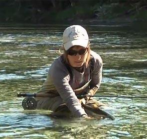comment relâcher un saumon ou tout autre poisson