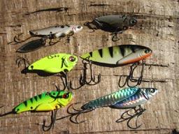 lames vibrantes pour la pêche